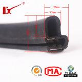 Tiras protetoras de borracha expulsas do selo da porta de carro