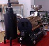 Aço inoxidável comercial torrificador de café de 1 quilograma