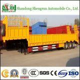 40FT Aanhangwagen van de Vrachtwagen van het Bed van de tri-As van afmetingen de Lage