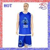 Uniformes de encargo del baloncesto de la sublimación para las personas