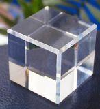 De optische K9 Duidelijke Kubus van het Kristal, het Blok van het Kristal