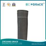 高品質のアルカリの抵抗力があるガラス繊維フィルターソックス材料