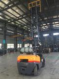 Forklift da aparência 2.5ton LPG de Tcm com Nissan japonês K25/K21