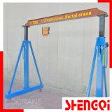 Gantry manuel Crane 500kg, 1t, 2t, 3t, 5t, 10t