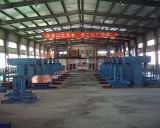 Máquina de carcaça ascendente contínua de cobre de Rod