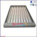 Tutto il collettore solare di vetro del condotto termico della valvola elettronica