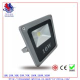 Ce&RoHS Approved Outdoor 10W LED COB Flood Light