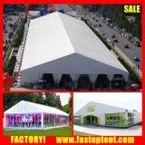Tent van de Markttent van de Gebeurtenissen van de Partij van het Huwelijk van de Luxe van de Muur van het glas de Grote Openlucht Witte met Linnen en Gordijnen