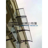 Polycarbonat Awning/Canopy/Tents/Shelter für Windows und Doors