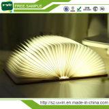USBの軽い屋外の軽い本の形ライト