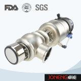 Tipo manual sanitario válvula de la diversión del flujo (JN-FDV1010) del acero inoxidable