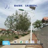 el 12m 120W Battety de luz de calle solar del litio
