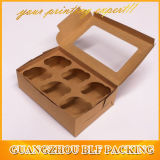 Brown Kraft Paper Cupcake Box (BLF-PBO061)