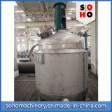 Revestimento que aquece o reator químico de aço inoxidável