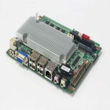 Cartão-matriz encaixado integrado processador central com os encabeçamentos da expansão 6*COM (D525)