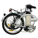 Bicicleta eléctrica de la batería de litio con la velocidad de Shimano 7 (TDN-004)