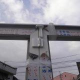 Porte de pliage en aluminium de profil de qualité Kz091