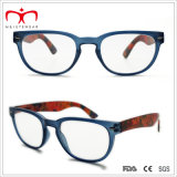 Signore Plastic Reading Glasses con Flower Paper Transfer (WRP507259)