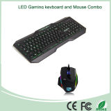 Teclado Mejor venta LED Gaming and Mouse Combo