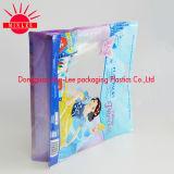 Bolso del embalaje para el alimento de animal doméstico/la bolsa de plástico de la parte inferior plana