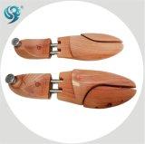 A fábrica luxuosa da qualidade projeta a árvore de madeira da sapata da forma