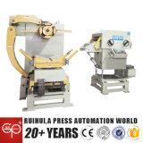 3 em 1 máquina do alimentador do Straightener do Nc fazem o endireitamento do material (MAC2-600)