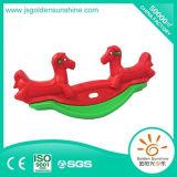 Cheval d'oscillation de oscillation en plastique du jouet des enfants avec le certificat de CE/ISO
