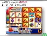 De raad van het Spel van de Gokautomaat van de Machine van het Videospelletje Xerxes