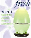 Зеленый здоровый Egg-Shaped личный воздушный фильтр домочадца СИД