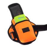 Saco de ciclagem Running atlético do braço do telefone dos esportes do neopreno