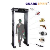Caminhada elevada da sensibilidade das zonas cheias do varredor 6 do corpo através do detetor de metais