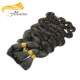 一等級の100%年のボディ波のもつれの自由なマレーシアの毛