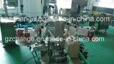 Rotulador automático de las botellas de las caras del champú dos