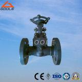Válvula de porta de flange de aço compacto de 150 libras / 300 lb / 600 lb (GAZ41H)