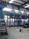 Ligne imperméable à l'eau auto-adhésive butylique neuve de production à la machine de prérevêtement en continu