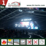 50m Breiten-transparentes oberstes sehr großes Zelt Hall mit Glasummauerung für 10000 Leute-Konzert-Ereignisse