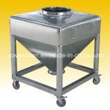 Compartimiento de mezcla de la tolva IBC del tambor del acero inoxidable para el gránulo farmacéutico (HZT-600)