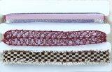 Halsband van de Nauwsluitende halsketting van de Rij van de stof en van het Kant de Multi