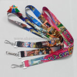 カスタムPolyesterかNylon Sublimation Heat Transfer Printed Neck Lanyard