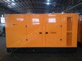 generador diesel silencioso estupendo 280kw/350kVA con el motor BRITÁNICO Ce/CIQ/Soncap/ISO de Perkins