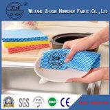 Tessuto non tessuto di Spunlace della maglia diretta del fornitore 18 per la cucina pulita