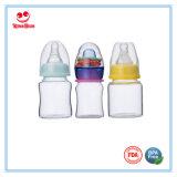 Botella estándar Cuello Mini Rattle cristal de bebé para los recién nacidos