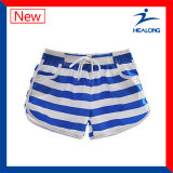 Shorts por atacado de funcionamento Sublimated tintura do colar do Grandad de Healong