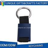 Metallo piacevole Keychain di Keychain del tessuto da vendere