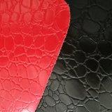 Couro genuíno do PVC do couro artificial do PVC do couro da mala de viagem da trouxa dos homens e das mulheres da forma do couro do saco Z061 do fabricante da certificação do ouro do GV