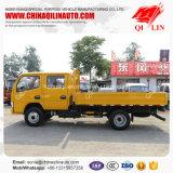Dongfeng 4X2 doppelter Reihen-Fahrerhaus-seitliche Wand-Licht-Ladung-LKW
