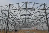 Costruzioni prefabbricate chiare della costruzione della struttura d'acciaio