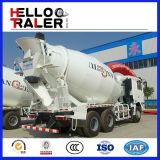8cbm mélangeur mobile concret, mélangeur monté par 6X4 de camion d'entraîneur de HOWO