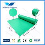arpillera verde de 3m m EVA sin la película para el suelo del laminado del bambú