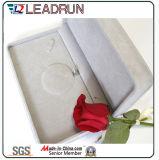 Rectángulo del cuero del rectángulo de almacenaje de la caja de embalaje del rectángulo de regalo de la joyería del terciopelo (YS30A)